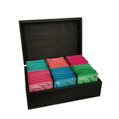 London Tea Company luxusní kazeta mix sáčkových čajů 90ks - 6 druhů