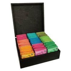 London Tea Company luxusná kazeta mix sáčkových čajov 135 ks - 9 druhov