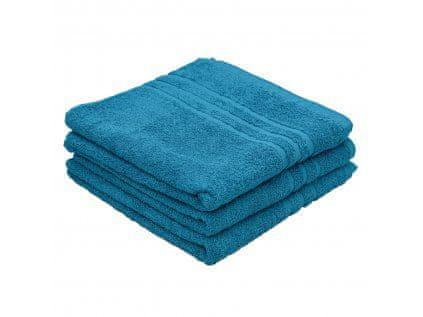 Povlečeme vše Ručník Standard azurový modrý