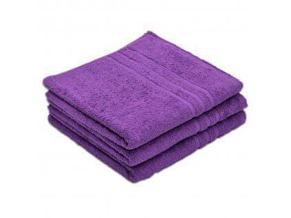 Povlečeme vše Ručník Standard fialový