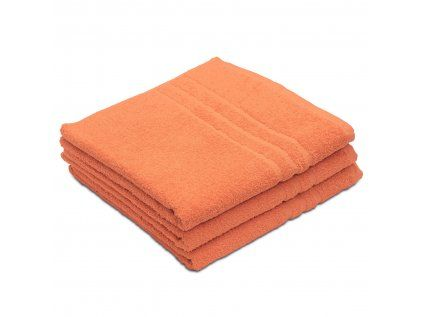 Povlečeme vše Ručník Standard oranžový