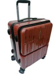 Resena kovček, potovalni, ABS, vel. S, 37 l, bordo rdeč