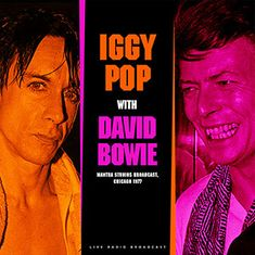 Iggy Pop & David Bowie: Best of Live at Mantra Studios Broadcast 1977 - LP