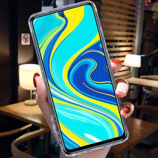 Sparkle ovitek za Samsung Galaxy S20 FE, silikonski, črn, z bleščicami