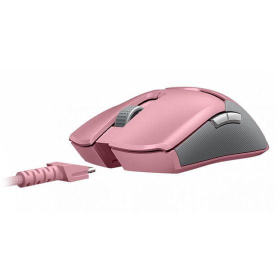 Razer Viper Ultimate brezžična gaming miška, roza
