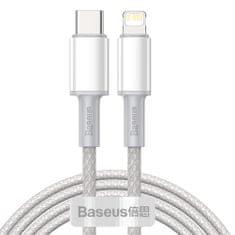 BASEUS Data kabel USB-C / Lightning PD 20W 2m, belo