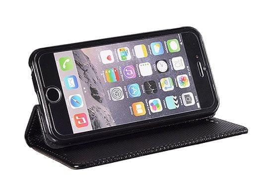 Havana maskica za iPhone 12 Pro Max, preklopna, crna