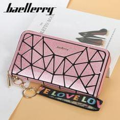 Baellerry Ženska modna Denarnica Diamant, svetlo roza