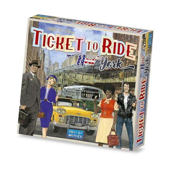 Days of Wonder družabna igra Ticket to Ride New York angleška izdaja