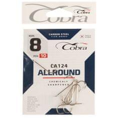 Cobra Hooks allround series ca124 č. 8, 10 ks.