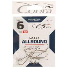 Cobra Háčky allround sérii ca124 číslo 6, 10 ks.