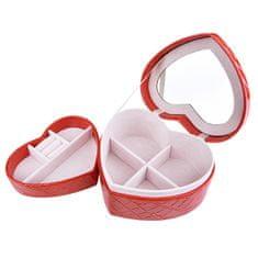 Troli Romantična škatla za nakit Srce VJBB008