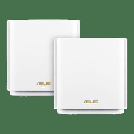 Asus ZenWiFi XT8, Tri-Band, WiFi 6, AX6600, Mesh 2x, bel (90IG0590-MO3G80)