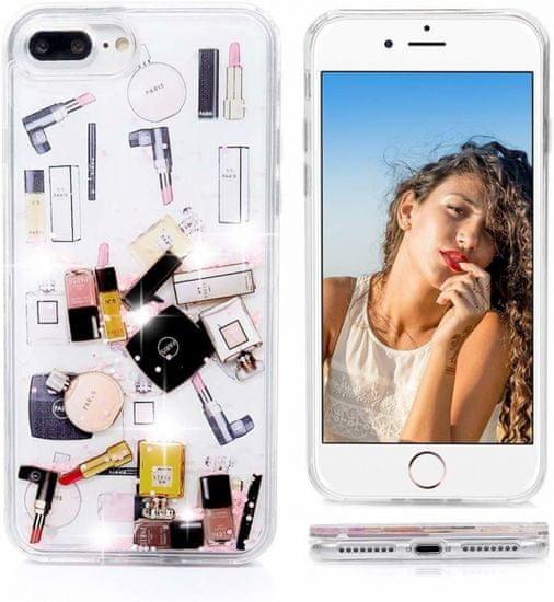 Make Up ovitek za iPhone 11, silikonski, z bleščicami