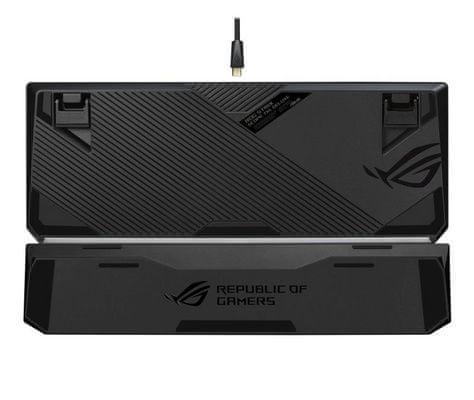 Asus ROG Strix Scope TKL Deluxe mehanska tipkovnica, RGB, MX Red, USB, UK SLO gravura