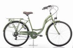 Romet Samanta 26 mestno kolo, M-18, zeleno - Odprta embalaža