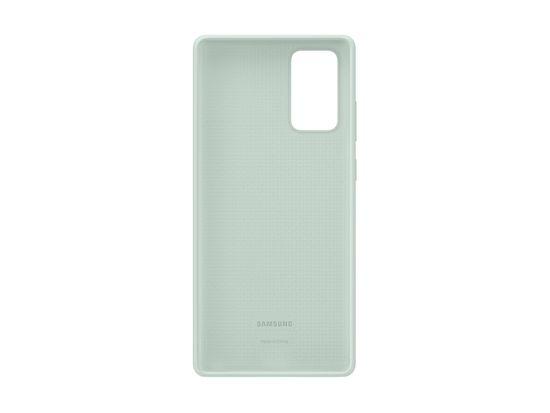 Samsung EF-PN980TME maskica za Samsung Galaxy Note 20, original, silikonska, mint