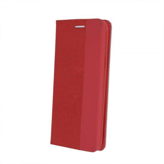Onasi Moon ovitek za Samsung Galaxy S20 FE, preklopni, rdeč