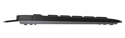 Cherry Stream tipkovnica, črna, USB, SLO
