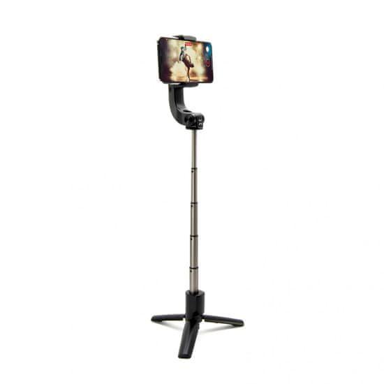 FIXED Selfie tripod se stabilizátorem a dálkovou spouští Snap Action FIXSS-SNA-BK, černý