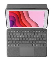 Logitech Combo Touch tipkovnica za iPad (7. in 8. generacija), SLO gravura