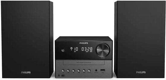 Philips TAM3505 glasbeni stolp, črn