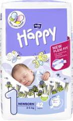 Bella Happy pieluszki Baby New Born, 42 szt.