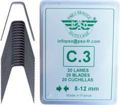PSO Prořezávací nůž C3 – hranatý řez 8-12mm