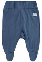 JACKY hlače za dječake sa stopalicama Bamboolina 3711770, 50, plave