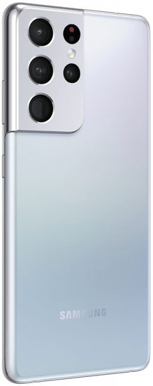 Samsung Galaxy S21 Ultra 5G mobilni telefon, 12GB/128GB, fantomski srebrn