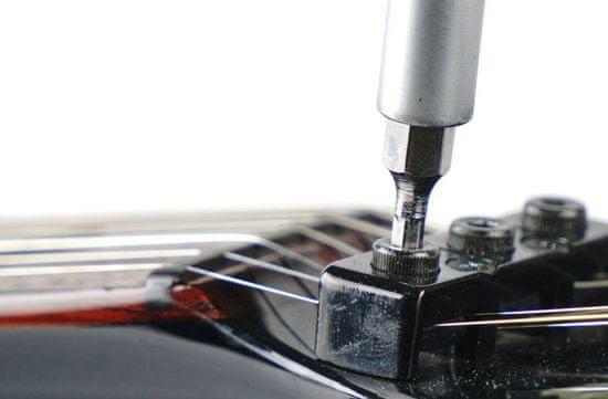 MusicNomad MN229 Premium Guitar Tech Screwdriver and Wrench Set - set nářadí na seřízení nástroje