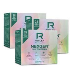 Reflex Nutrition Nexgen 60 kapslí NEW - AKCE 2+1 ZDARMA