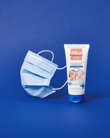 Mixa krema za obraz za občutljivo kožo, 100 ml
