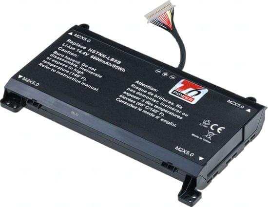 T6 power Baterie T6 power HP Omen 17-an000, 17-an100, 16pin, Geforce 1060/1070, 5700mAh, 82Wh, 8cell, Li-ion