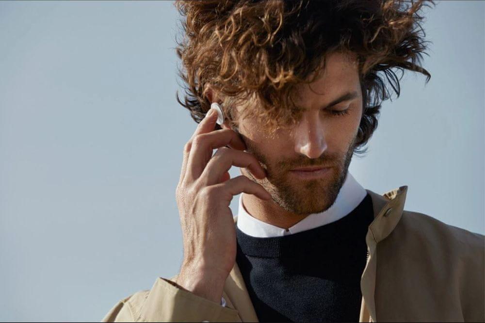 Microsoft Surface Earbuds, bílá/šedá