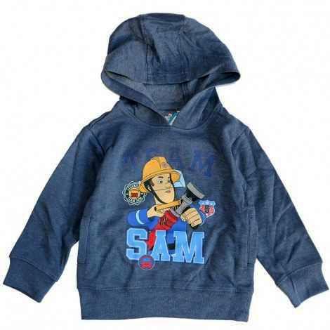"""SETINO Bluza chłopięca """"Straźak Sam"""" - niebieski"""