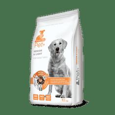 thePet+ 3in1 dog SENIOR & LIGHT Adult - 12 kg