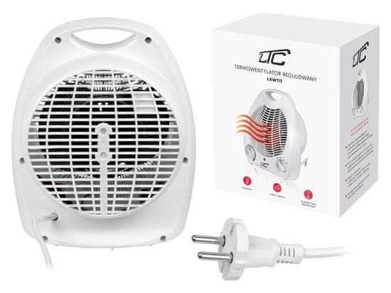 LTC Termoventilator - kalorifer s termostatom 1000W/2000W bel