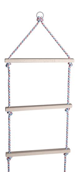 Teddies drewniana drabinka sznurowa 200 cm