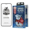 Shark Full Glue Steklo za iPhone 12 Pro Max črna