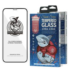 Proda Shark Full Glue Steklo za iPhone 12 Pro Max črna