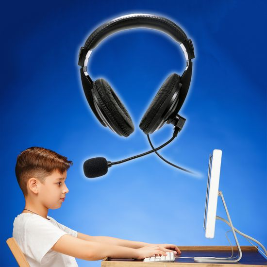Platinet / Fiesta FIS7510 naglavne slušalke, USB