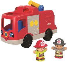 Fisher-Price Wóz strażacki Little People