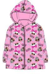 "Eplusm Dekliška zimska jakna ""LOL"" - roza - 104 / 3–4 leta"