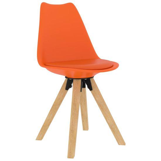 shumee 5-delna jedilnica Set oranžna
