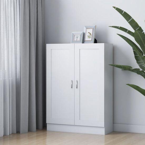 shumee fehér forgácslap könyvszekrény 82,5 x 30,5 x 115 cm