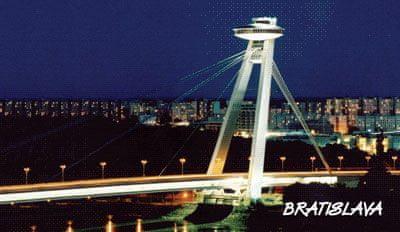 tvorme 3D magnetka Bratislava - most SNP (leto/zima)