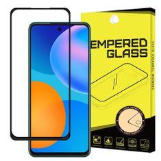 MG Full Glue Super Tough zaščitno steklo za Huawei P Smart 2021, črna