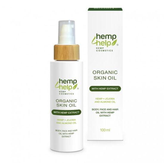 HEMP FOR HELP - BIO Konopný tělový olej 100ml