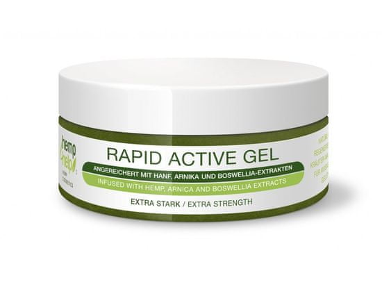 HEMP FOR HELP - BIO Rapid Active Gel na klouby a svaly 100ml